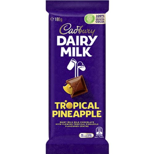 Cadbury Tropical Pineapple (180g) ( Australia )